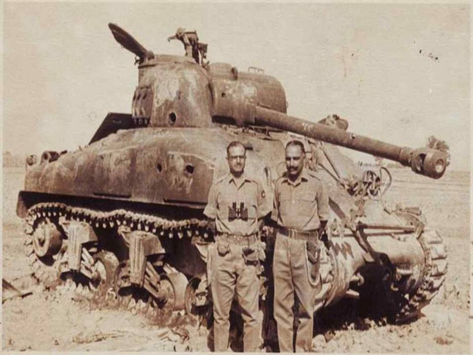 Captured Sherman Tank of the Pakistani Army