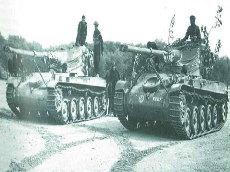 Indian AMX-13 Tanks