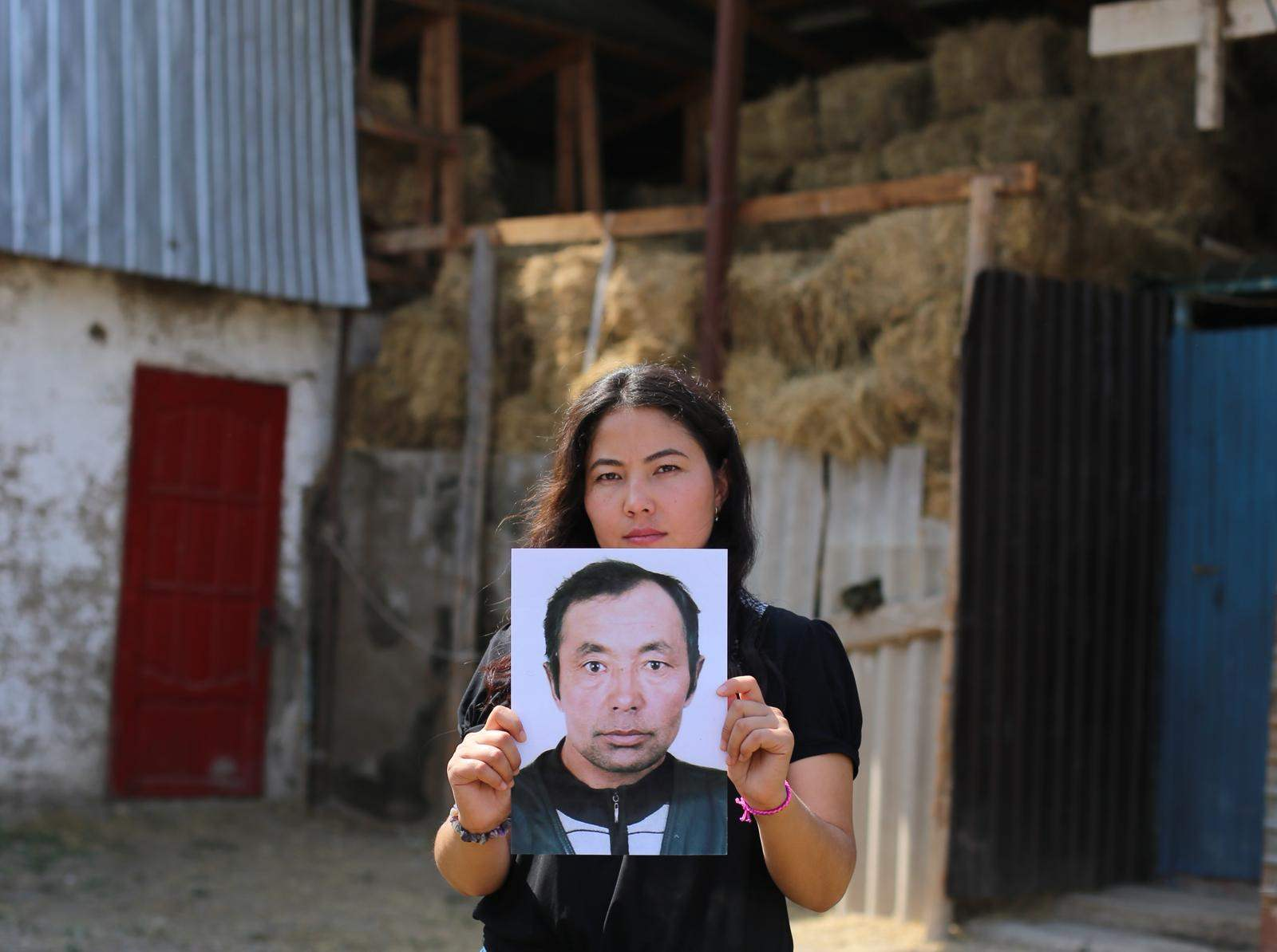 Relatives told Bota Kussaiyn that her father has been sent to re-education camp (Photo by Amnesty)