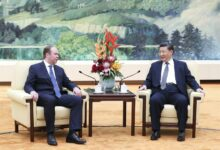 Photo of President Xi meets Russian presidential administration chief