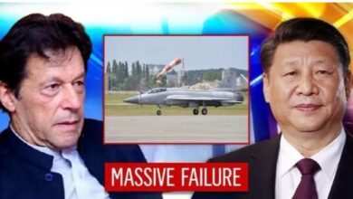Photo of China-Pakistan's Multi-role Fighter JF-17 Falls Flat; Droops Against IAF's Mirage & SU-30s