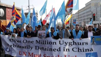 Photo of China attacking other countries to cover its rights abuses against Uyghur minorities