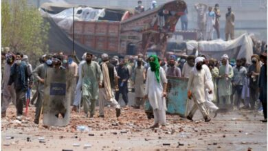 Photo of Tehreek-e-Labbaik violence shows Pakistan is at war, can't play peacemaker in Afghanistan